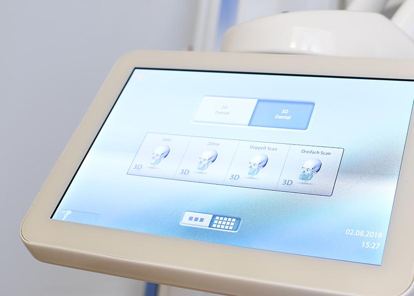 Zahnarztpraxis Dr. med. dent. Matthias Wolfgarten, Technische Ausstattung